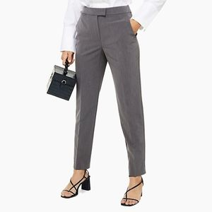 TOPSHOP | MARKIE GREY CIGARETTE TROUSERS
